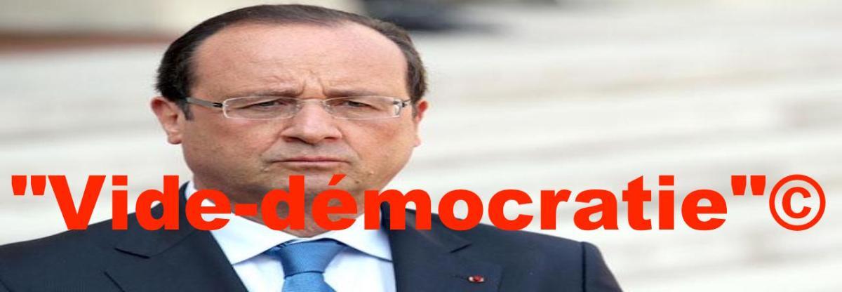 """""""Vide-démocratie"""""""